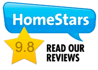 Check out Our Reviews on Homestars.com Badge | Homepage | 360 Inspection Services